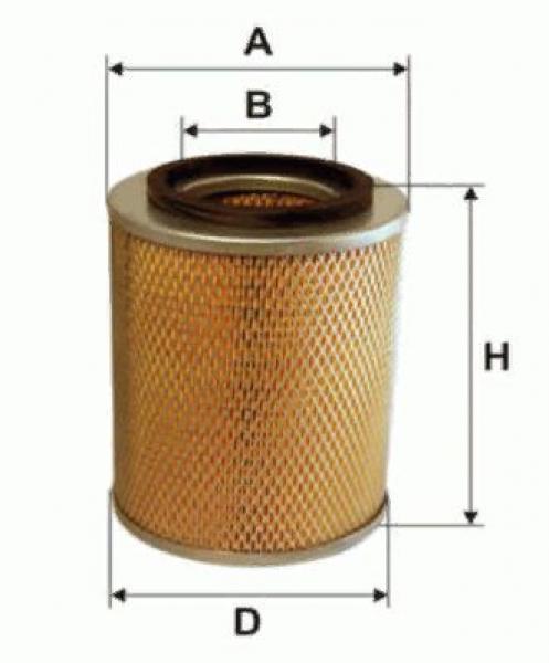 Воздушный фильтр SL6163