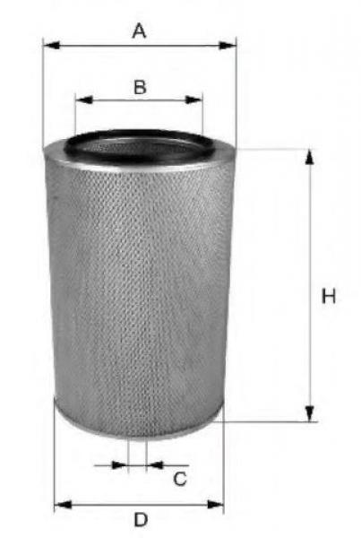 Воздушный фильтр SL6209