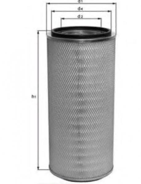 Фильтр воздушный 0009839001