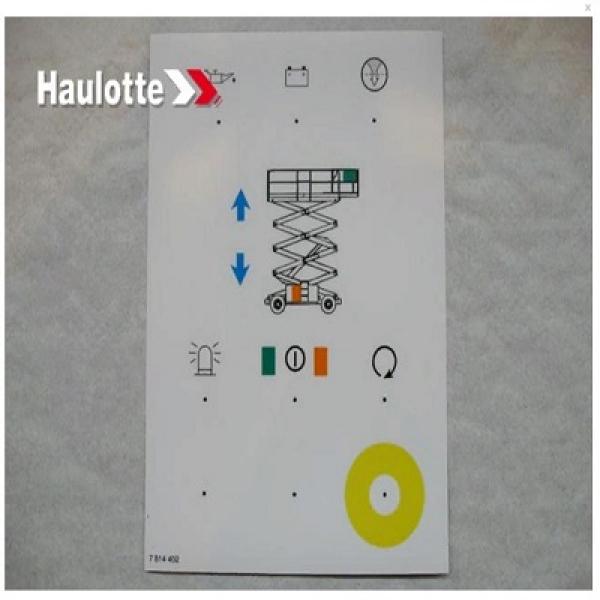 Наклейка пульта управления 3078144020