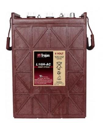 Полутяговый аккумулятор,Заполненный TROJAN L16H-AC